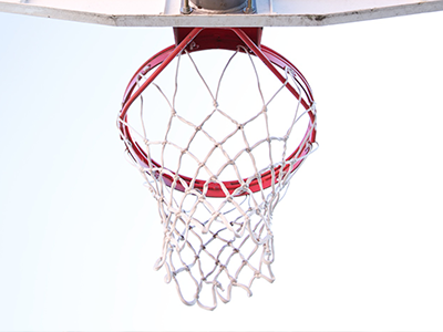 Picture of a net in hoop